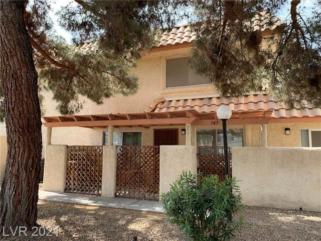 745 Nectarine Court, Henderson, NV 89014 (MLS #2285898) :: Signature Real Estate Group