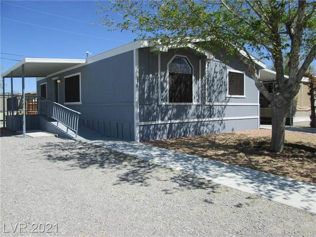 250 Bonnie Clair Court, Pahrump, NV 89048 (MLS #2285917) :: Signature Real Estate Group