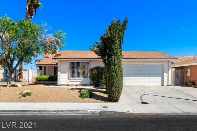 2405 Whirlaway Street, Las Vegas, NV 89108 (MLS #2286004) :: Signature Real Estate Group