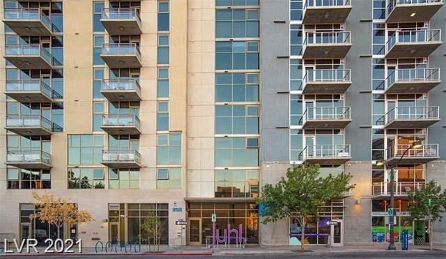 353 Bonneville Avenue #527, Las Vegas, NV 89101 (MLS #2286110) :: The Shear Team
