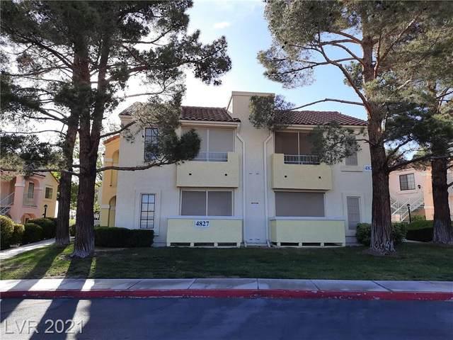 4827 Torrey Pines Drive #101, Las Vegas, NV 89103 (MLS #2286113) :: Signature Real Estate Group
