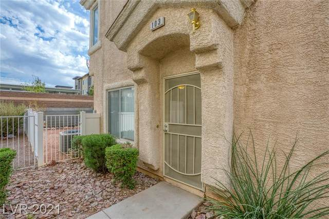 6489 Stone Dry Avenue #103, Henderson, NV 89011 (MLS #2286153) :: Lindstrom Radcliffe Group