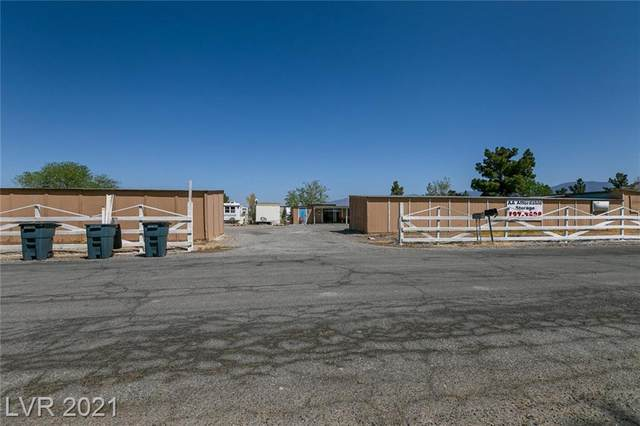 1610 Donner Street, Pahrump, NV 89048 (MLS #2286293) :: The Perna Group