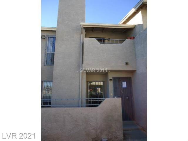 3769 Carlyle Drive #72, Las Vegas, NV 89115 (MLS #2286432) :: Signature Real Estate Group
