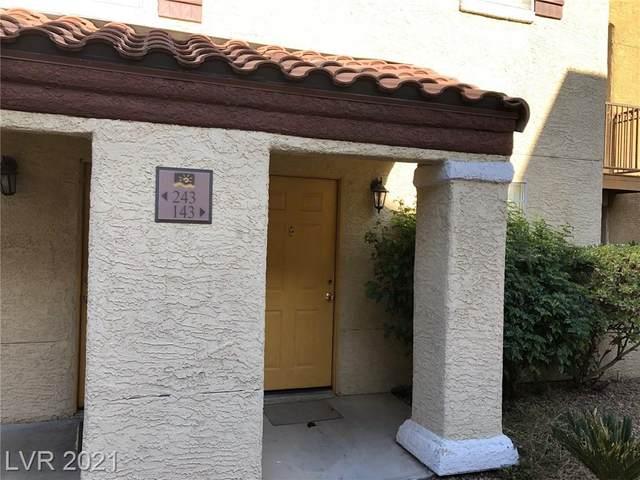 2801 Rainbow Boulevard #143, Las Vegas, NV 89108 (MLS #2286627) :: Vestuto Realty Group