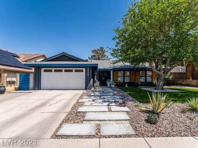 2414 Doherty Way, Henderson, NV 89014 (MLS #2286836) :: Signature Real Estate Group