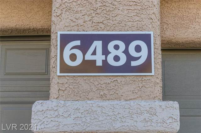 6489 Burns Allen Avenue #103, Las Vegas, NV 89122 (MLS #2286977) :: The Shear Team
