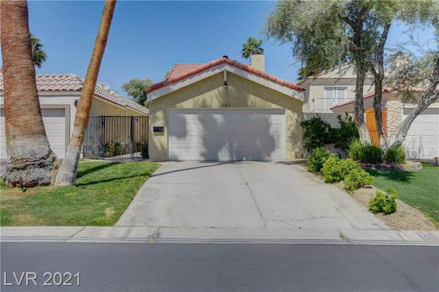 3163 Bel Air Drive, Las Vegas, NV 89109 (MLS #2287113) :: Kypreos Team