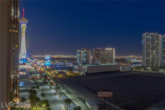2700 Las Vegas Boulevard #1408, Las Vegas, NV 89109 (MLS #2287761) :: Team Michele Dugan