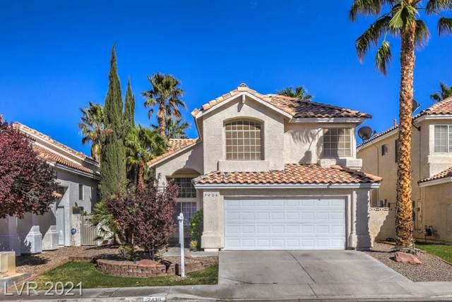 2436 Ginger Lily Lane, Las Vegas, NV 89134 (MLS #2287776) :: Signature Real Estate Group
