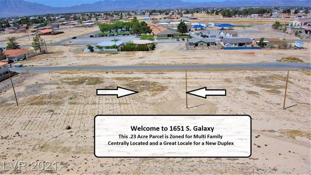 1651 S Galaxy Street, Pahrump, NV 89048 (MLS #2287959) :: Lindstrom Radcliffe Group