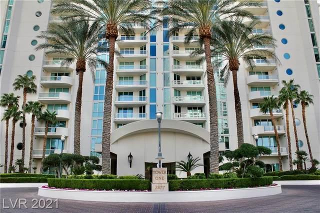 2877 Paradise Road #206, Las Vegas, NV 89109 (MLS #2288131) :: Jack Greenberg Group
