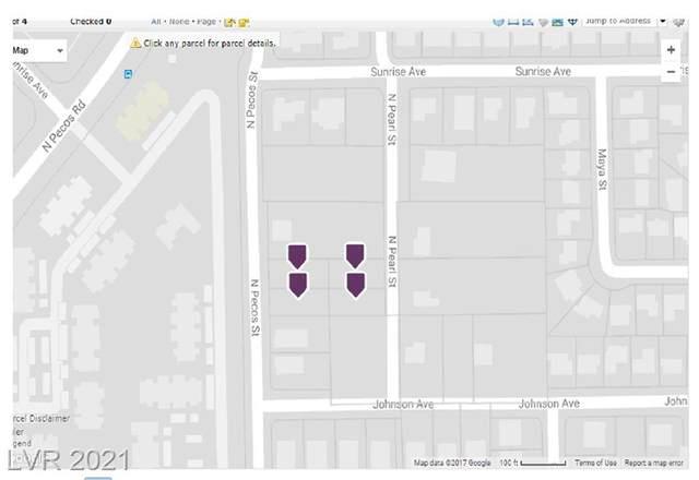 Pecos And Pearl Street, Las Vegas, NV 89110 (MLS #2288313) :: Signature Real Estate Group