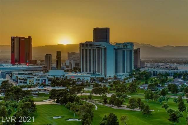 3111 Bel Air Drive 25B, Las Vegas, NV 89109 (MLS #2288468) :: The Perna Group