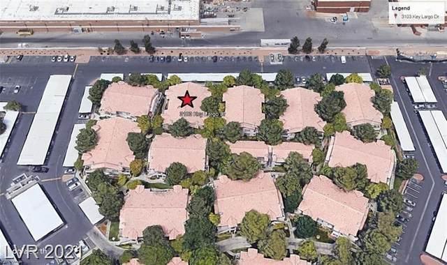3103 Key Largo Drive #204, Las Vegas, NV 89120 (MLS #2288480) :: The Perna Group