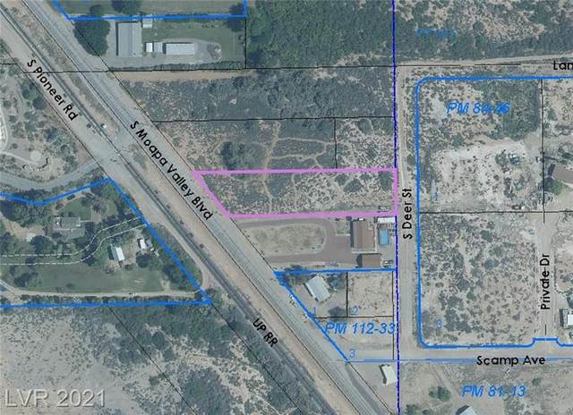 Moapa Valley -008, Overton, NV 89040 (MLS #2288522) :: Signature Real Estate Group