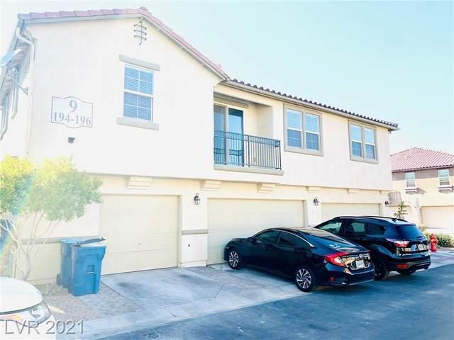 6250 Arby Avenue #196, Las Vegas, NV 89118 (MLS #2288569) :: Galindo Group Real Estate