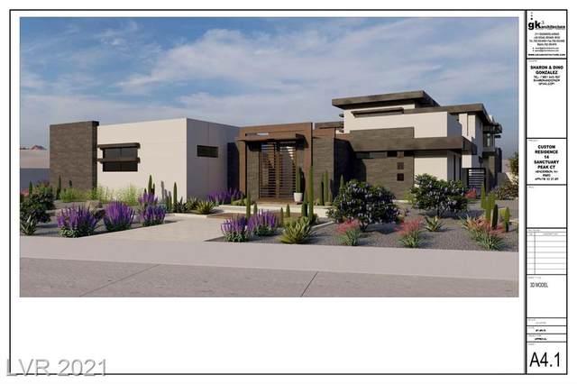 14 Sanctuary Peak Court, Henderson, NV 89012 (MLS #2289077) :: Team Michele Dugan