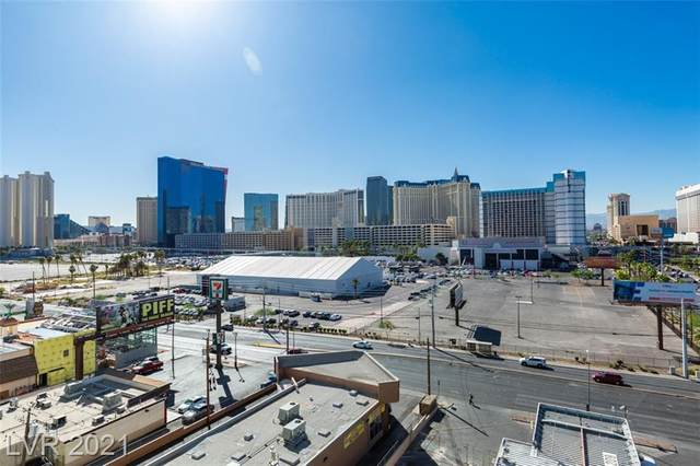 211 E Flamingo Road #614, Las Vegas, NV 89169 (MLS #2289366) :: The Perna Group