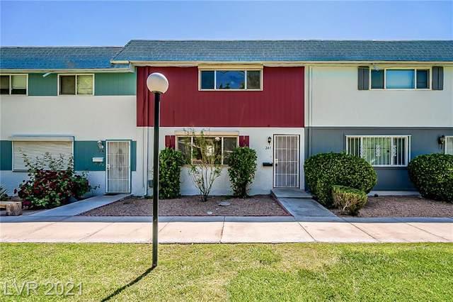 241 Greenbriar Townhouse Way, Las Vegas, NV 89121 (MLS #2289440) :: Signature Real Estate Group