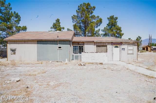 1640 Bruce Street, Pahrump, NV 89048 (MLS #2289653) :: Signature Real Estate Group