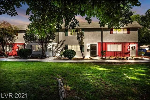 402 Greenbriar Townhouse Way, Las Vegas, NV 89121 (MLS #2289661) :: Lindstrom Radcliffe Group