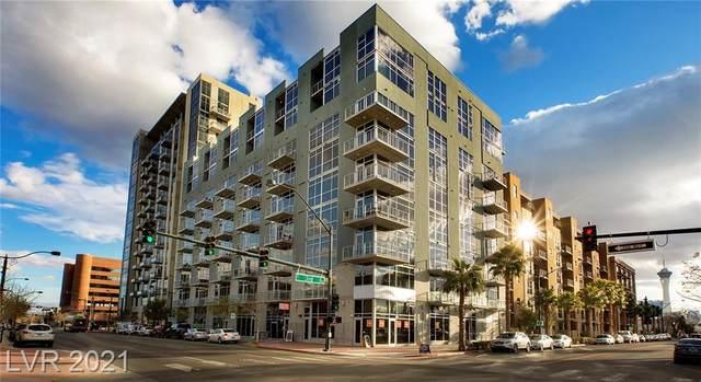 353 E Bonneville Avenue #636, Las Vegas, NV 89101 (MLS #2289694) :: The Melvin Team