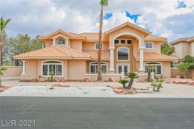 4914 Mesa Capella Drive, Las Vegas, NV 89148 (MLS #2289740) :: Custom Fit Real Estate Group