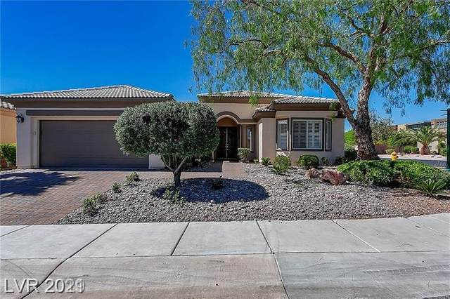 10741 Angelo Tenero Avenue, Las Vegas, NV 89135 (MLS #2289850) :: Custom Fit Real Estate Group
