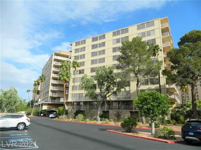 205 E Harmon Avenue #1007, Las Vegas, NV 89169 (MLS #2289874) :: The Shear Team