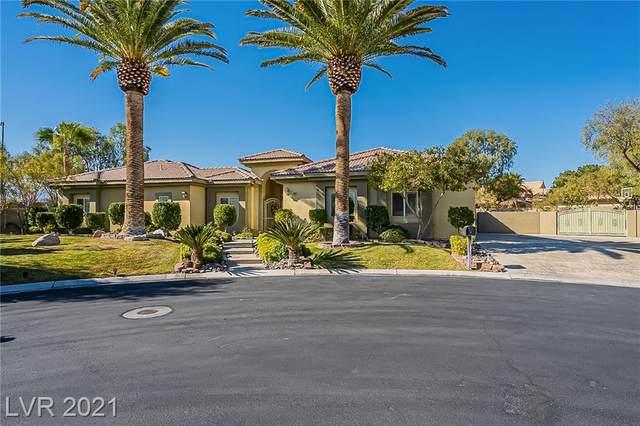 8382 Jeeves Circle, Las Vegas, NV 89149 (MLS #2290060) :: The Shear Team
