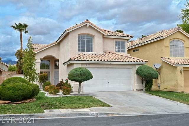 2429 Rice Flower Circle, Las Vegas, NV 89134 (MLS #2290157) :: Signature Real Estate Group