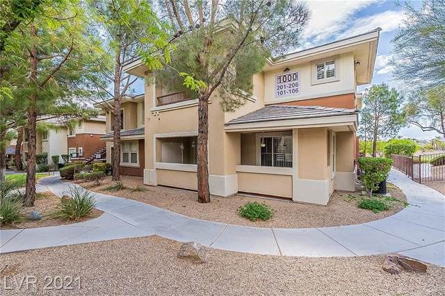 1000 Duckhorn Court #202, Las Vegas, NV 89144 (MLS #2290558) :: The Shear Team
