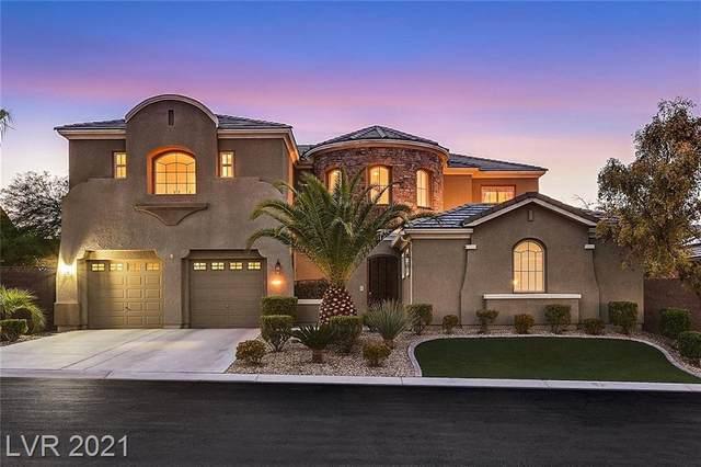 2675 Leon Say Lane, Henderson, NV 89044 (MLS #2290796) :: Signature Real Estate Group