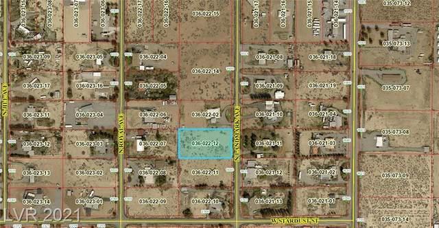 1840 N Landmark Avenue, Pahrump, NV 89060 (MLS #2290847) :: Signature Real Estate Group