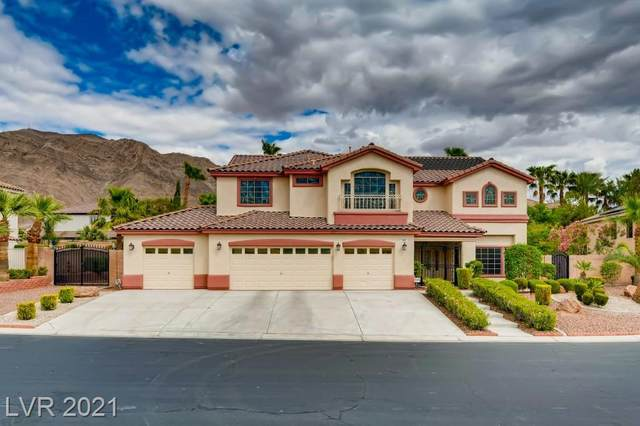 444 Sunset Villa Drive, Las Vegas, NV 89110 (MLS #2291270) :: Signature Real Estate Group
