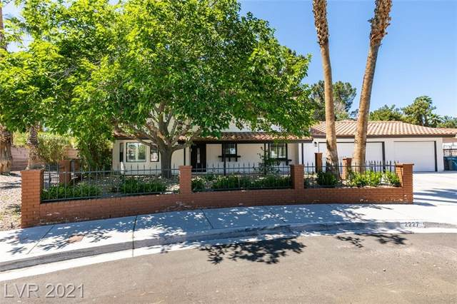 2227 Marlboro Drive, Henderson, NV 89014 (MLS #2291371) :: Signature Real Estate Group