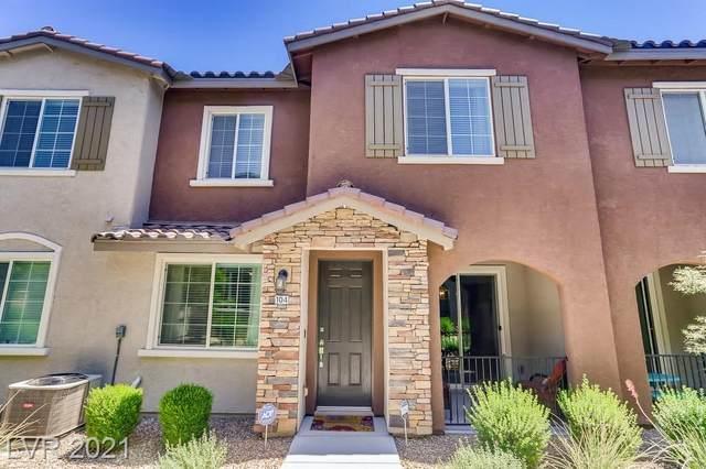 8442 SW Classique Avenue #104, Las Vegas, NV 89178 (MLS #2291931) :: The Chris Binney Group   eXp Realty
