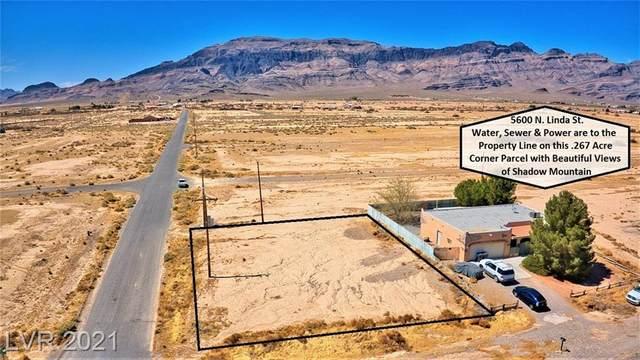 5600 N Linda Street, Pahrump, NV 89060 (MLS #2291958) :: Signature Real Estate Group