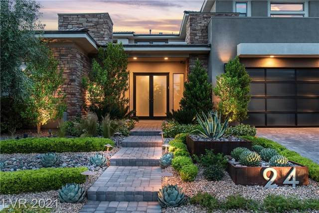 24 Springacre Drive, Las Vegas, NV 89135 (MLS #2292518) :: Signature Real Estate Group