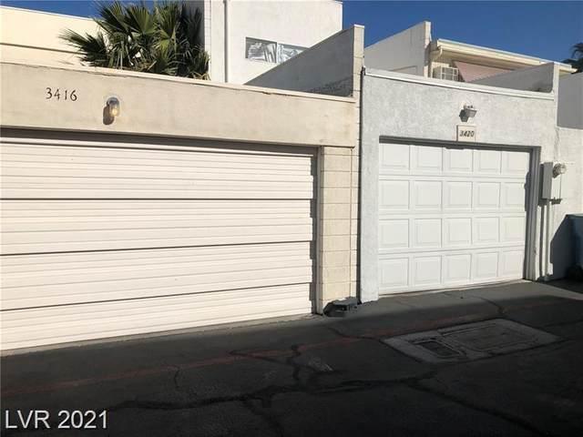 3412 Townhouse Drive, Las Vegas, NV 89121 (MLS #2292609) :: Signature Real Estate Group