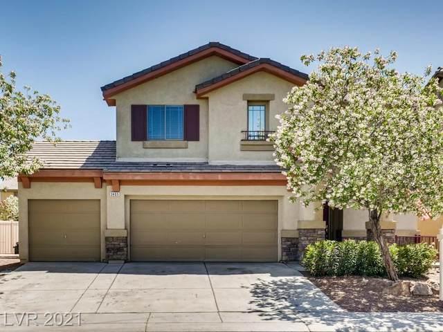 3405 Carolina Moon Avenue, North Las Vegas, NV 89081 (MLS #2292713) :: Signature Real Estate Group
