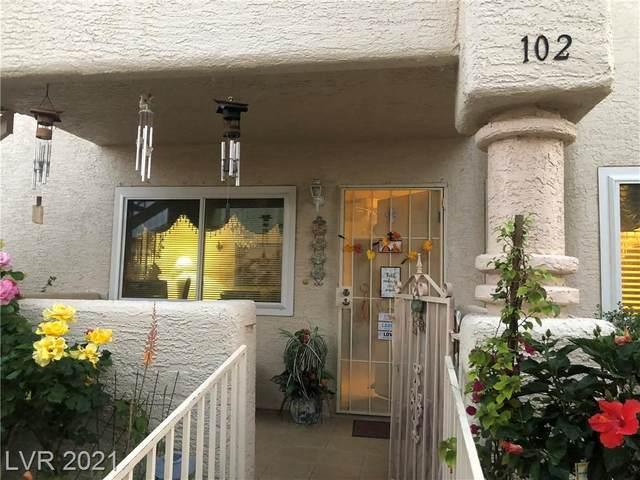 913 Rockview Drive #102, Las Vegas, NV 89128 (MLS #2292794) :: Custom Fit Real Estate Group