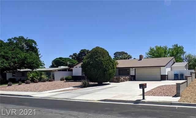2213 Bonnie Brae Avenue, Las Vegas, NV 89102 (MLS #2292969) :: Signature Real Estate Group