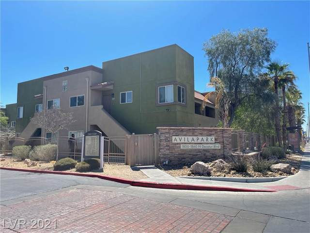 1810 N Decatur Boulevard #104, Las Vegas, NV 89108 (MLS #2293089) :: Custom Fit Real Estate Group