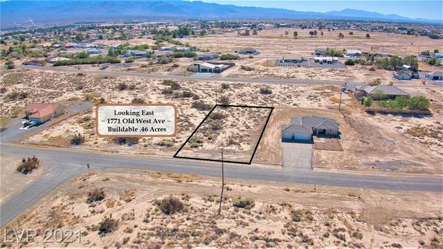 1771 Old West Avenue, Pahrump, NV 89048 (MLS #2293146) :: Signature Real Estate Group