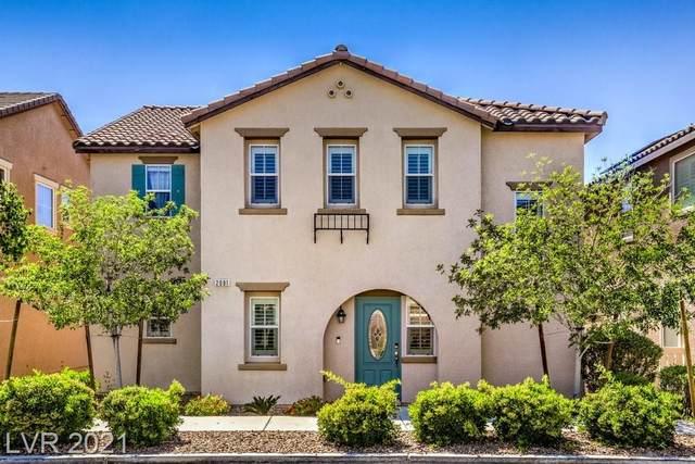 2081 Self Portrait Street, Henderson, NV 89044 (MLS #2293185) :: Custom Fit Real Estate Group