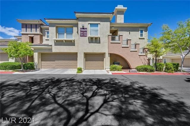 10620 Amber Ridge Drive #102, Las Vegas, NV 89144 (MLS #2293299) :: Signature Real Estate Group