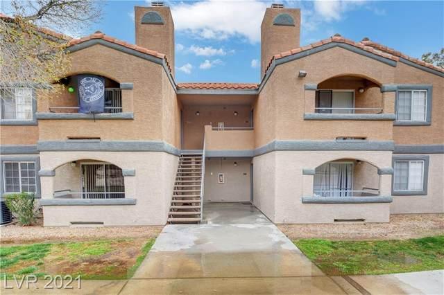 221 Mission Catalina Lane #107, Las Vegas, NV 89107 (MLS #2293509) :: Custom Fit Real Estate Group