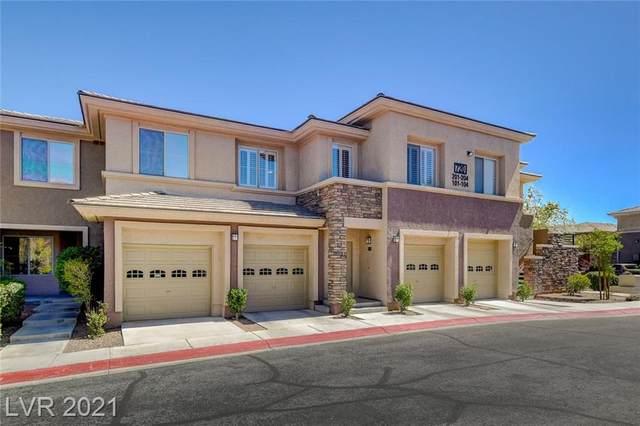 720 Peachy Canyon Circle #203, Las Vegas, NV 89144 (MLS #2293556) :: The Shear Team